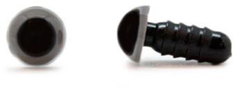 Veiligheidsogen Grijs 6mm per paar