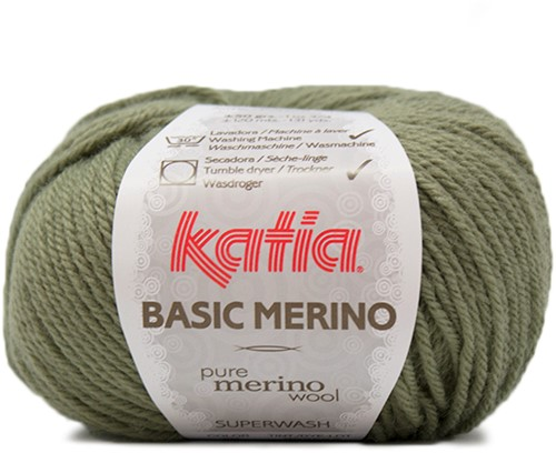 Katia Basic Merino 70 Khaki