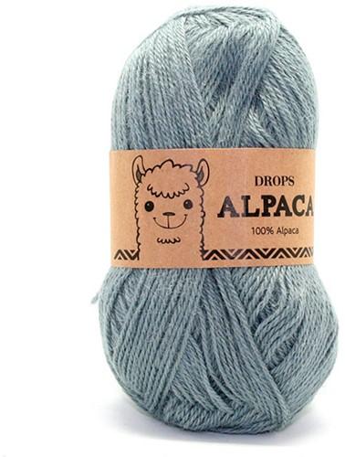 Drops Alpaca Uni Colour 7139 Grijs/groen
