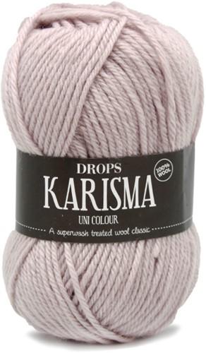 Drops Karisma Uni Colour 71 Silver pink
