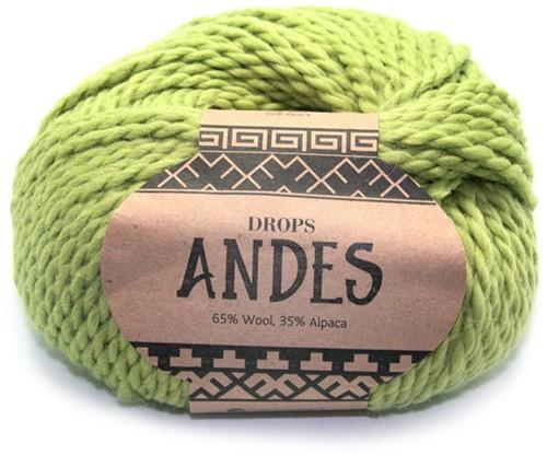 Drops Andes Uni Colour 7320 Pistache