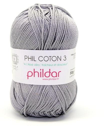Phildar Phil Coton 3 1462 Silver