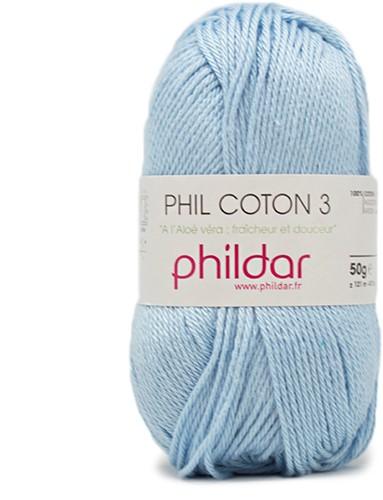 Phildar Phil Coton 3 1367 Azur