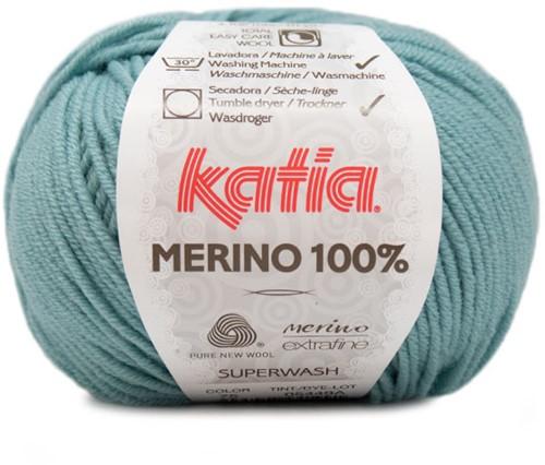 Katia Merino 100% 75 Water blue
