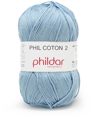 Phildar Phil Coton 2 1367 Azur