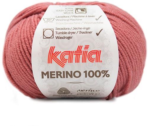 Katia Merino 100% 76 Salmon pink