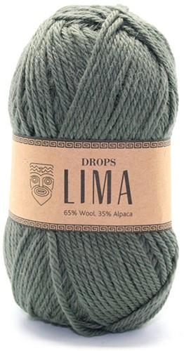 Drops Lima Uni Colour 7810 Moss-green