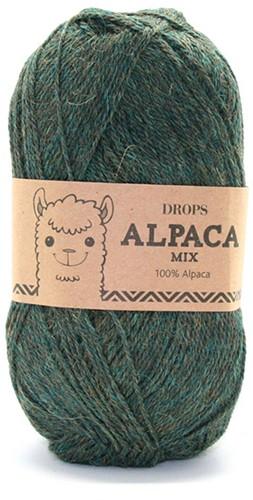 Drops Alpaca Mix 7815 Groen/turkoois