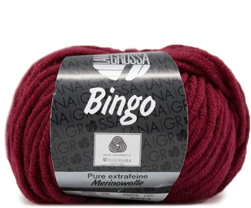 Lana Grossa Bingo 7 Wine Red