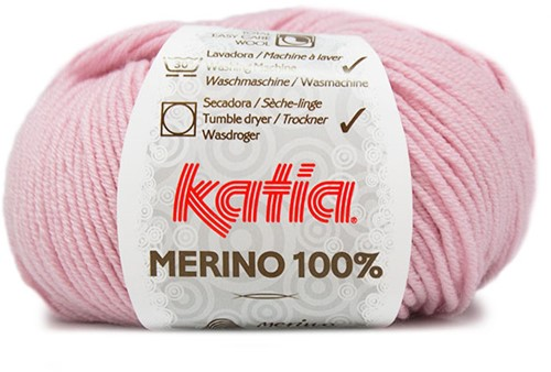 Katia Merino 100% 7 Very light rose