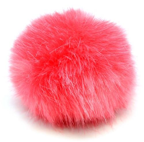 Rico Kunstbont Pompon Medium 8 Coral
