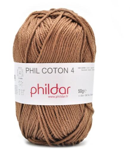 Phildar Phil Coton 4 1068 Cappucino