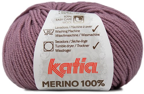 Katia Merino 100% 80 Pastel violet