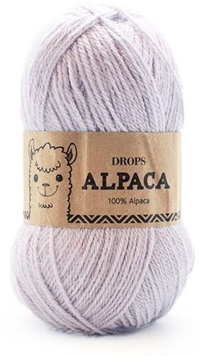 Drops Alpaca Uni Colour 8105 IJsblauw