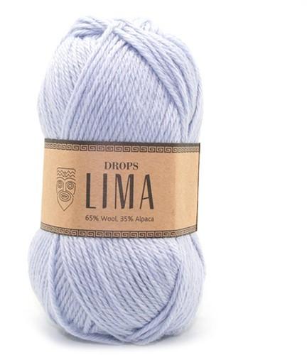 Drops Lima Uni Colour 8112 IJsblauw