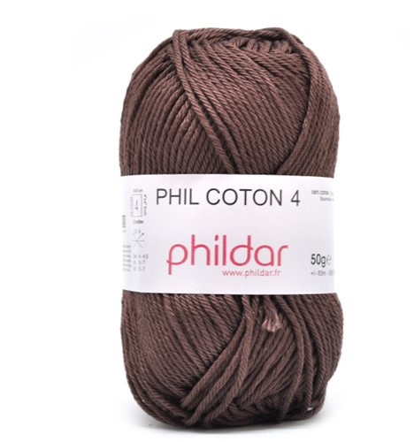 Phildar Phil Coton 4 81 Cacao