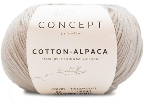 Katia Cotton Alpaca 82 Beige grey