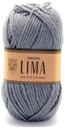 Drops Lima Uni Colour 8465 Grijs