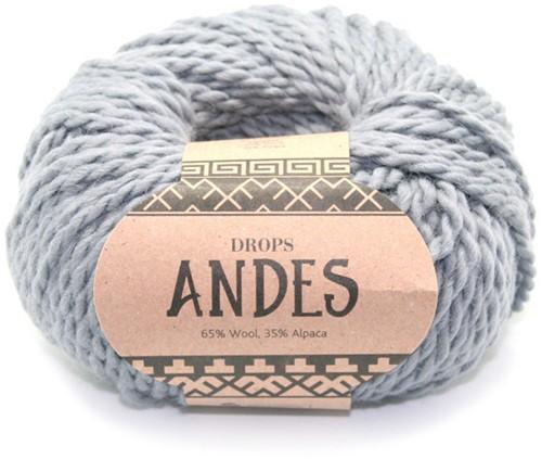 Drops Andes Uni Colour 8465 Grijs
