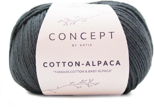 Katia Cotton Alpaca 85 Anthracite grey