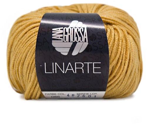 Lana Grossa Linarte 86 Golden Yellow