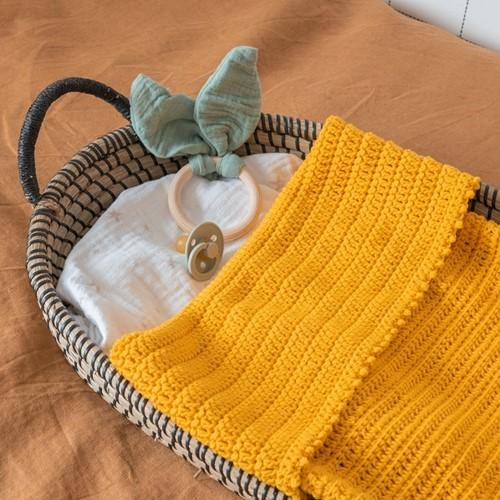 Yarn and Colors Oh Baby! Crochet Blanket Haakpakket 015 Mustard