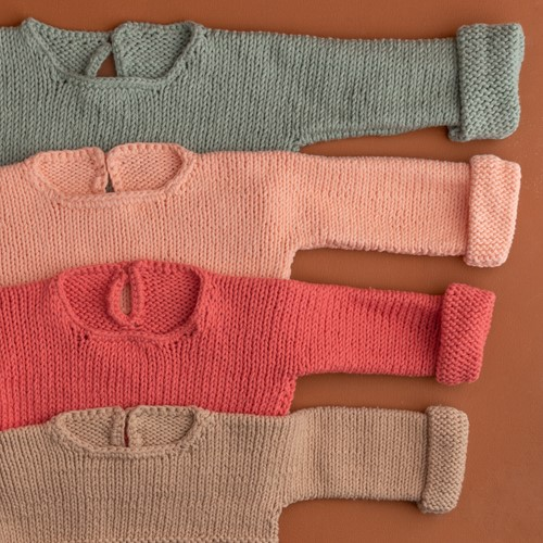 Yarn and Colors Oh Baby! Sweater Breipakket 041 Coral