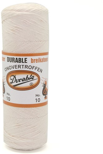 Durable Breikatoen No. 10 87 Ecru