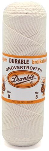 Durable Breikatoen No. 8 87 Ecru