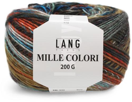 Lang Yarns Mille Colori 200 Gr. 88