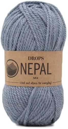 Drops Nepal Mix 8913 Light Blue