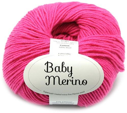 Drops Baby Merino Uni Colour 08 Fuchsia