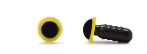 Veiligheidsogen Geel 8mm per paar