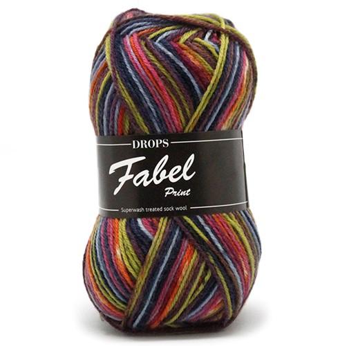 Drops Fabel Print 901 Candy