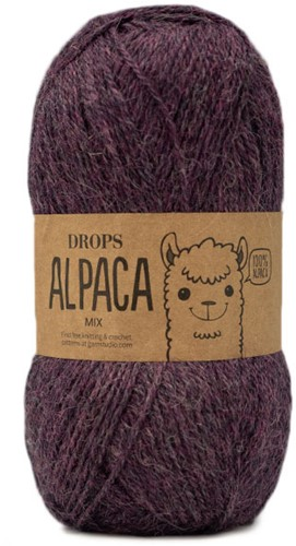 Drops Alpaca Mix 9023 Purple Fog