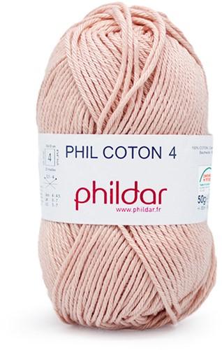 Phildar Phil Coton 4 1274 Lait de Rose