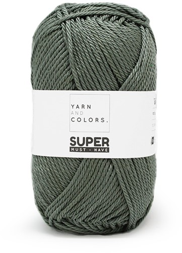 Yarn and Colors Leaf Cushion Haakpakket 6 Pea Green
