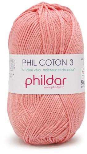 Phildar Phil Coton 3 1092 Rose Saumon