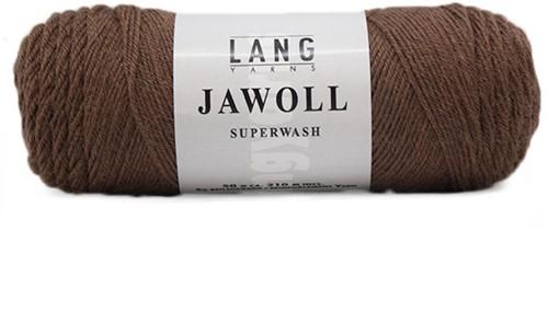 Lang Yarns Jawoll Superwash 95 Marrone