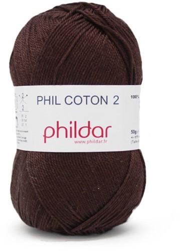 Phildar Phil Coton 2 1068 Marron