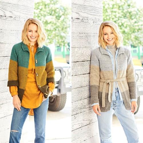 Breipatroon Stylecraft Highland Heathers DK No. 9795 Cardigans