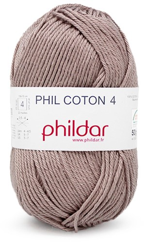 Phildar Phil Coton 4 1094 Taupe