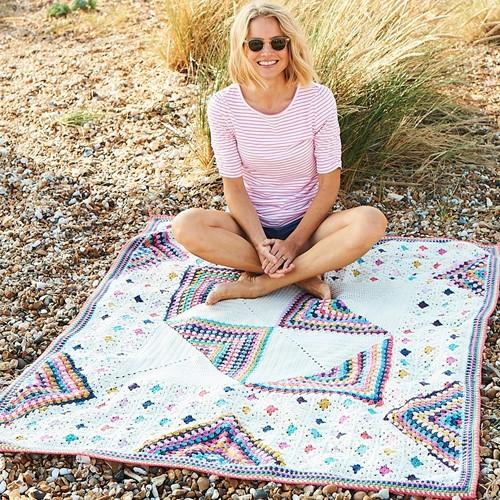Granny Square Celebration Blanket Haakpakket