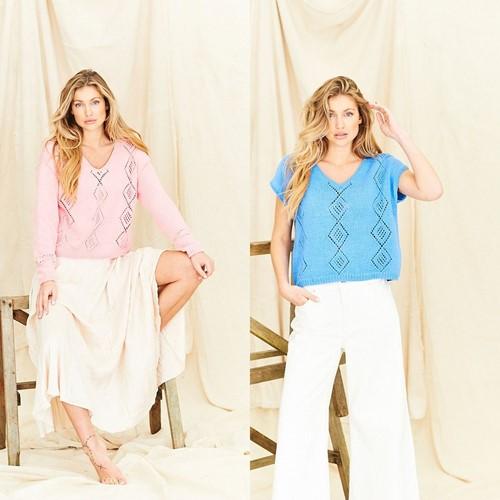 Breipatroon Stylecraft Naturals - Organic Cotton DK No. 9835 Tops