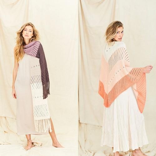 Breipatroon Stylecraft Naturals Organic Cotton DK No. 9836 Sjaals