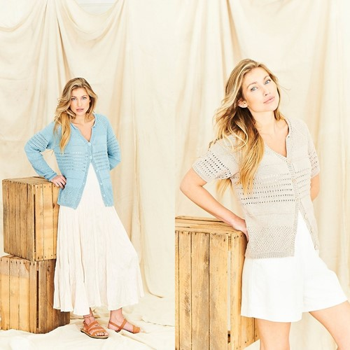 Breipatroon Stylecraft Naturals - Organic Cotton DK No. 9839 Cardigans
