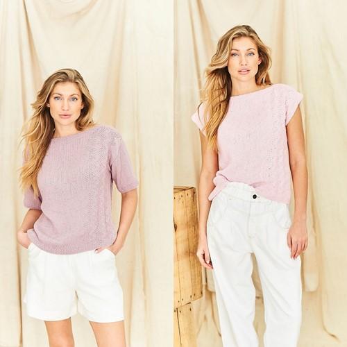 Breipatroon Stylecraft Naturals - Organic Cotton DK No. 9840 Tops