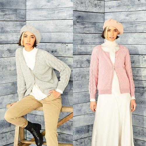 Breipatroon Stylecraft ReCreate DK No. 9860 Cardigans
