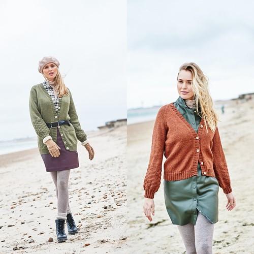 Breipatroon Stylecraft Highland Heathers DK No. 9864 Cardigans