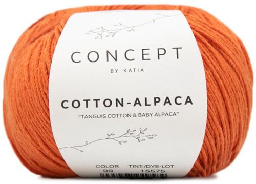 Katia Cotton Alpaca 99 Orange